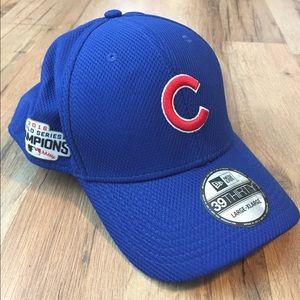 Chicago Cubs New Era World Series 39Thirty Hat